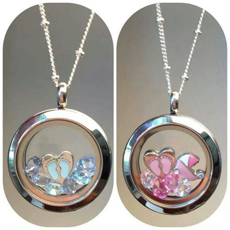 Origami Owl Small Locket - new origami owl living locket idea for a baby