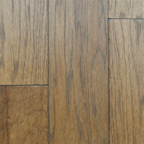 Solid Hickory Flooring by Heritage Mill Hickory Rustic Artisan Sepia 3 4 In Thick X