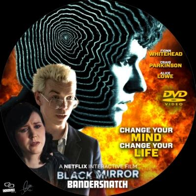 black mirror bandersnatch dvd covers labels by covercity