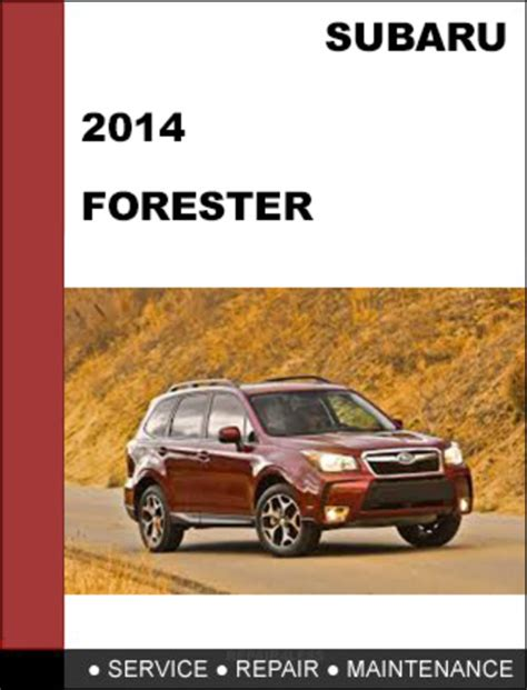 small engine repair manuals free download 2002 subaru legacy head up display subaru forester 2014 factory shop service repair manual