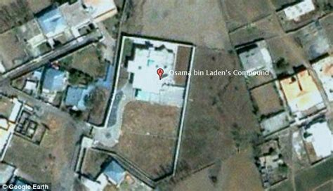 bin laden abbottabad google earth osama bin laden dead marijuana grew near his luxury
