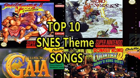 theme songs famous top 10 snes theme songs best ever youtube