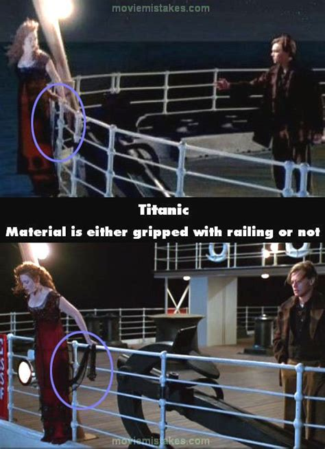 titanic film bloopers titanic movie mistake picture 25