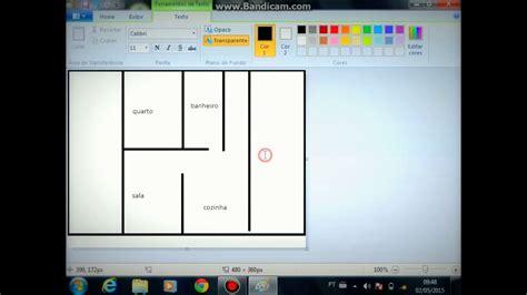 como criar uma planta de casas como criar uma planta de casa pelo paint