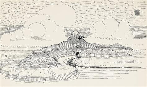 Tolkien Essay by The Of The Hobbit Illustrations From The J R R Tolkien Papers The Atlantic