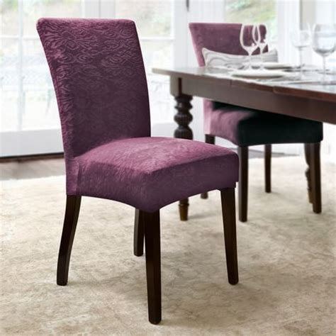 Dining Room Chair Covers Walmart Ca Surefit Damask Stretch Dining Chair Slipcover Walmart Ca