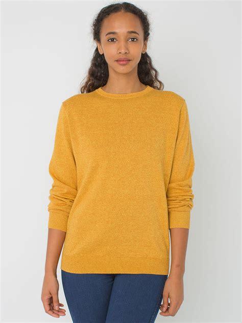 Basic Sweater Polos Sweater Oblong Blue Navy Unisex mustard crew neck sweater american apparel unisex basic crew neck sweater where to buy how