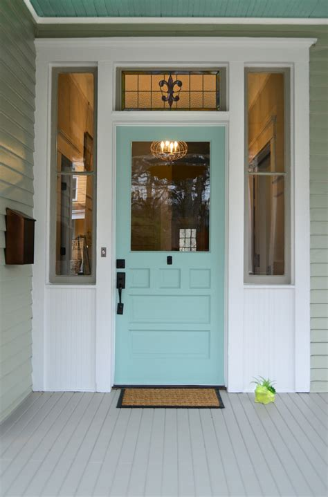Front Doors Atlanta Cottage Front Doors Entry Traditional With Atlanta Blue Front Door Beeyoutifullife