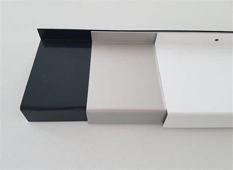fensterbank weiss aussen fensterb 228 nke aluminium fensterbank alu zuschnitt 50 500mm