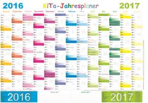 Kalender 2018 Zum Ausdrucken Pedia Kita Jahresplaner 2016 2017 E Z Verlag
