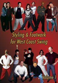 west coast swing syllabus rent dvd styling footwork for west coast swing volume