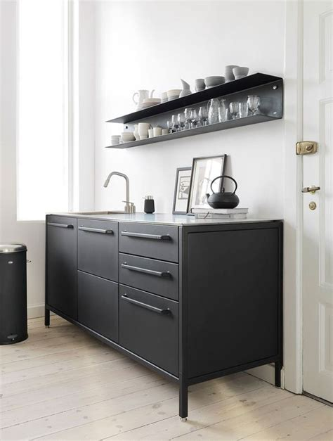 Steel Frame Kitchen Cabinets | vipp kitchen taarb 230 k danmark vipp kitchen pinterest