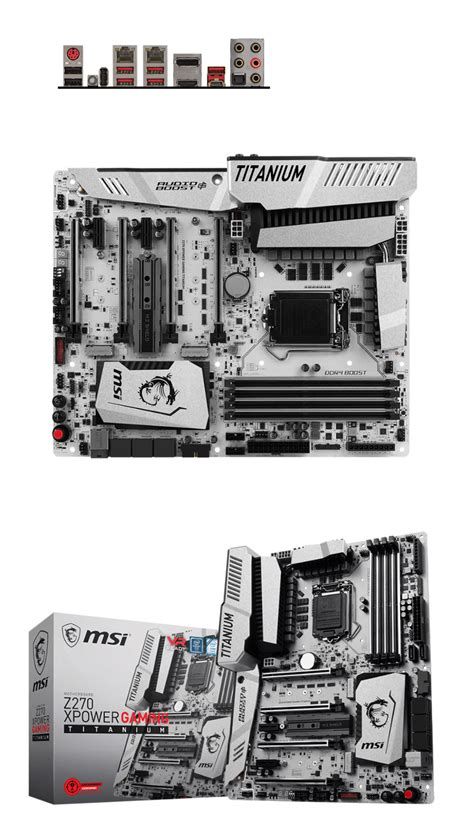 Motherboard Msi Z270 Xpower Gaming Titanium Socket 1151 msi z270 xpower gaming titanium motherboard msi z270