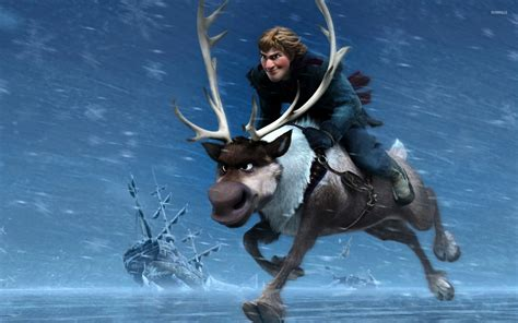 wallpaper frozen sven kristoff and sven frozen wallpaper cartoon wallpapers