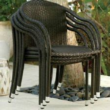 resin wicker barrel chair 1000 images about resin wicker on stacking