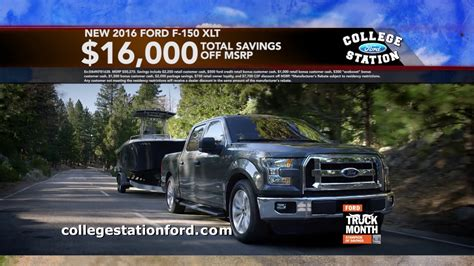 College Station Ford by College Station Ford Truck Month March 2017