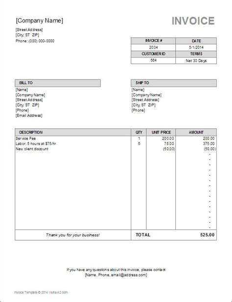 accounting invoice template 17 best images about excel on business