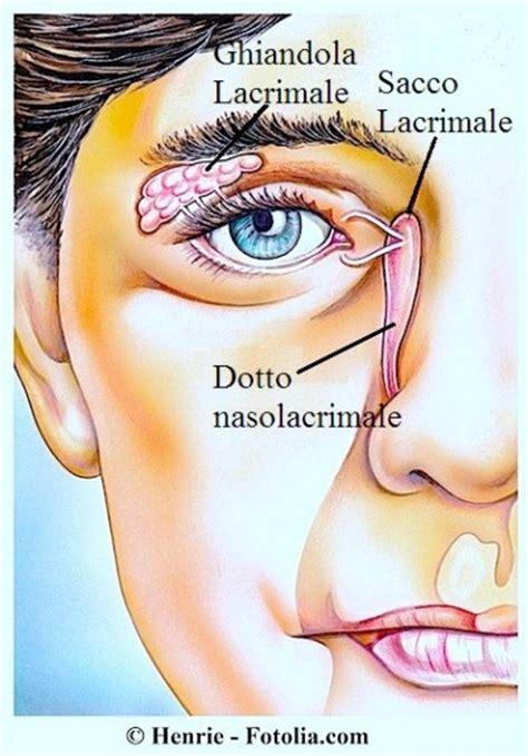 dolore all angolo interno dell occhio lacrimazione eccessiva agli occhi cause sintomi e terapia