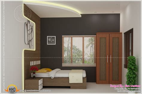 simple interiors for indian homes bedroom kid bedroom and kitchen interior kerala home