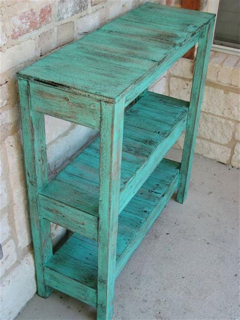 How To Make A Potting Table Out Of Pallets