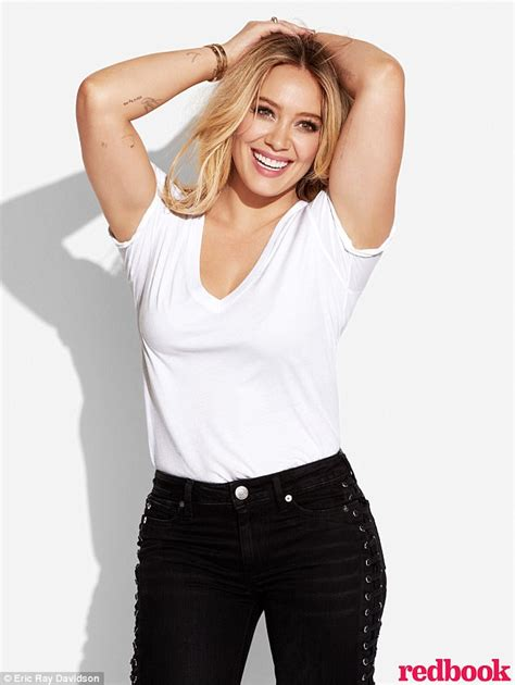 Hilary Duffs Single And Loving It by Hilary Duff Said It S Finding In La Daily Mail