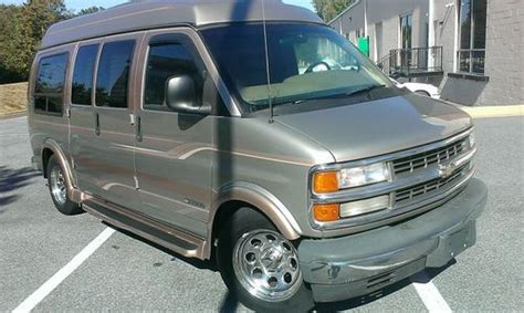 repair anti lock braking 2000 chevrolet express 1500 spare parts catalogs sell used 2000 chevy express 1500 conversion van fully loaded leather designer edition in