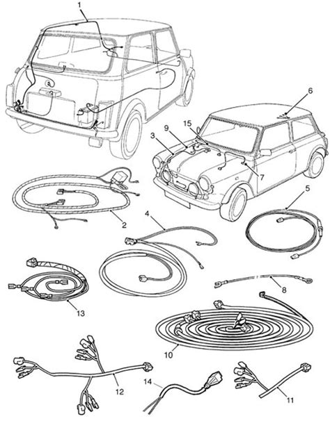 mini cooper  parts diagram automotive parts diagram images
