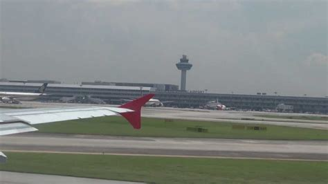 airasia di changi terminal berapa air asia a320 take off changi airport singapore youtube