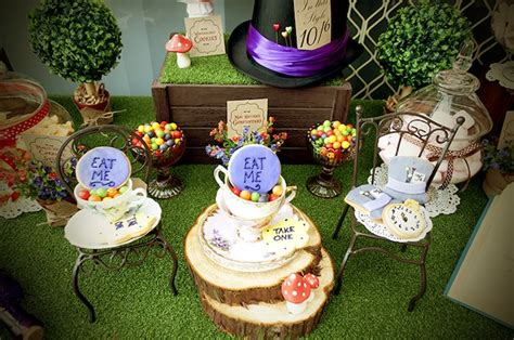 kara s ideas mad hatter tea baby shower ideas - Mad Hatter Baby Shower Theme