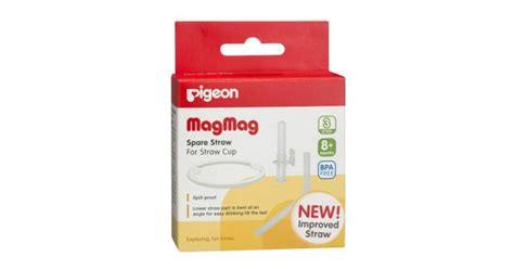 Pigeon Magmag Spare Straw For Straw Cup Limited jual murah pigeon mag mag spare straw for straw cup feeding nursing di jakarta
