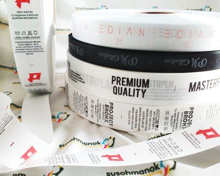 Bordir Label Baju tempat bikin label baju di jogja murah dan cepat