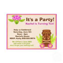 luau birthday invitation wording ideas new ideas