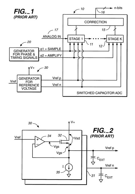 switched capacitor digital to analog converter patent us6400214 switched capacitor filter for reference voltages in analog to digital