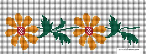 schemi ricamo fiori schema di ricamo punto croce di fiori