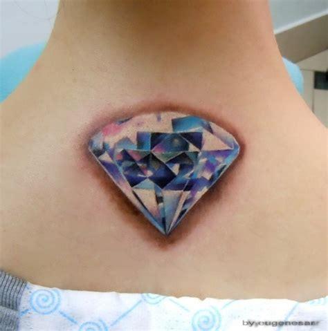 tattoo diamond on back abstract horse cart tattoo on man upper back