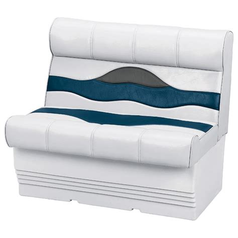 wise premium pontoon boat seats wise premium pontoon 44 quot lounge seat 140863 pontoon