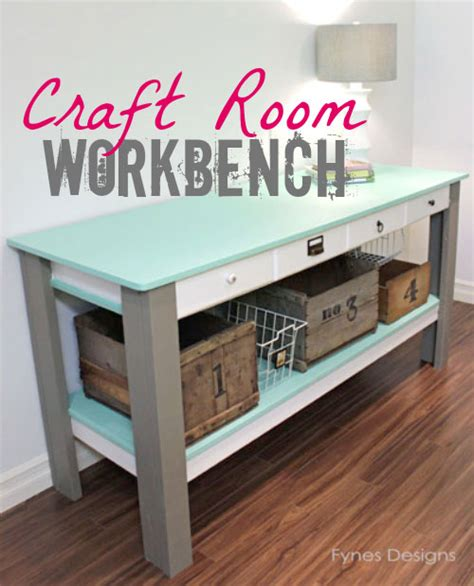 craft bench plans craft room workbench fynes designs fynes designs