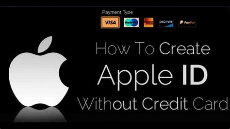 how to make apple id for free without credit card how to create free apple id on pc mac