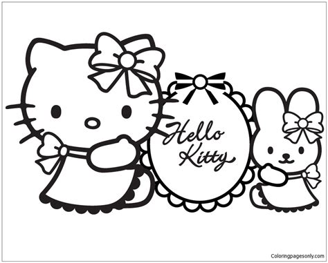 hello kitty coloring pages st patrick s day hello kitty 1 coloring page free coloring pages online