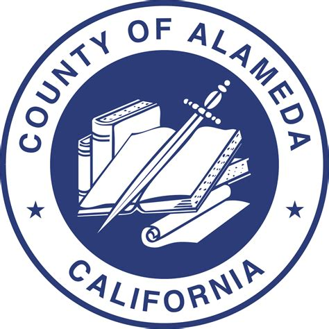 Records Alameda County File Seal Of Alameda County California Svg