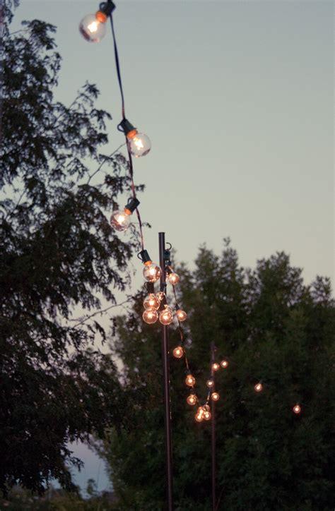 Diy Outdoor String Lights Crafty Projects Pinterest String Lights Diy