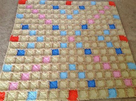Quilt Pattern Boards by Scrabble Board Pattern Rag Quilt