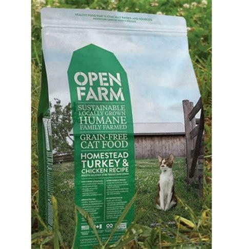 open farm food open farm grain free homestead turkey chicken cat food 4 lbs noah s ark feed