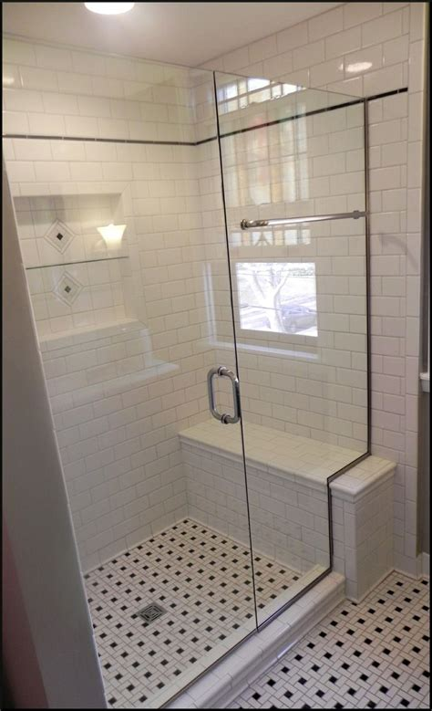Shower Enclosure With Bench Shower Enclosures With Seat Glass Shower Enclosures