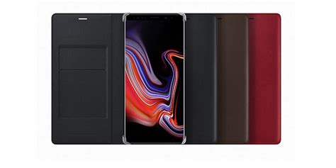 samsung galaxy note 9 accessories shown android community
