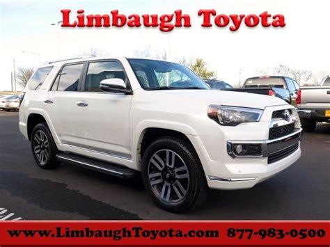 Limbaugh Toyota Used Cars New Toyota 4runner Limited