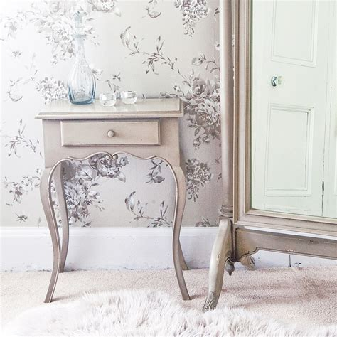 normandy shabby chic side table french bedroom company