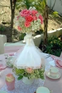 bridal shower centerpiece lets
