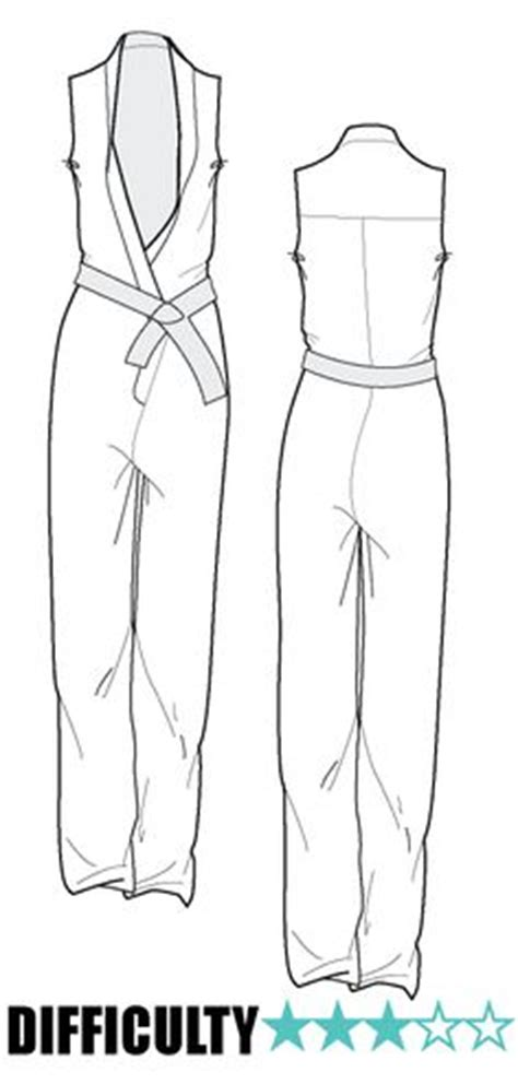 jumpsuit template 1000 images about fashion flat sketches on