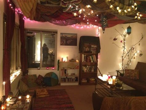 hippie living room what if we put tapestries on the living room ceiling and